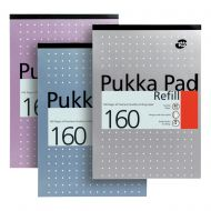 Pukka A4 RefillPad White160Pages REF80/1 (Pack 6)