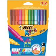 Bic Kids Visa Felt Tip Pens 888695 Pk12 (Pack 12)