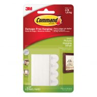 Command Small Picture Hanging Strips pk4 (Pack 1)