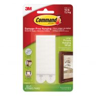 Command Large Picture Hanging Strips pk4 (Pack 1)