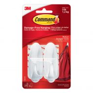 Command Medium Oval Adhesive Hooks pk2 (Pack 1)