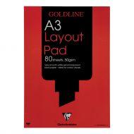 Goldline A3 Layout Pad GPL1A3Z (Pack 5)