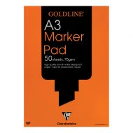 Goldline A3 Bleedproof Mrker Pad GPB1A3Z (Pack 5)