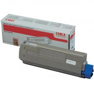 OKI C610 Toner Cart HY Blk 44315308 (Pack 1)