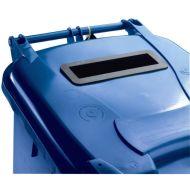 **Wheelie Bin 120L Locked Blue (Pack 1)