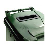 **Wheelie Bin 120L Locked Green (Pack 1)