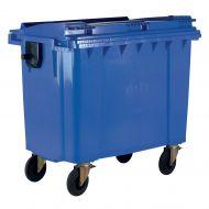 **Wheeled Bin 770L Blue (Pack 1)