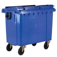 **Wheeled Bin 1100L Blue (Pack 1)