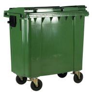 **Wheeled Bin 1100L Green (Pack 1)