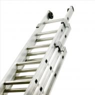 **Aluminium PushUp Ladder 3Sect x 8Rungs (Pack 1)