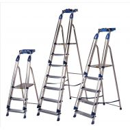 **Platform Ladder 6 Tread Silver/Blue (Pack 1)