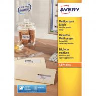 Avery FSC MPurp Lab 70x29.7 White 3489 (Pack 1)
