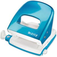 Leitz Hole Punch NeXXtWOW 30 Sht Blue (Pack 1)