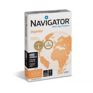 Navigator FSC Org 80gsm 4hole Pchd Pk500 (Pack 1)