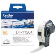 )Brother P TouchMultiPurp Labels DK11204 (Pack 1)
