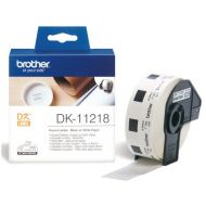 )BrotherPTouch Rnd Label 1in Dia DK11218 (Pack 1)