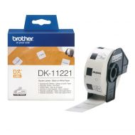)Brother Perm Adhesive Sq Label DK11221 (Pack 1)