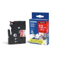 )Brother 12mm WhtOnRed Tape TZE435 (Pack 1)