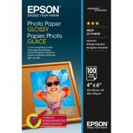 )Epson Ph/Paper Gl 10X15cm Pk100 S042548 (Pack 1)