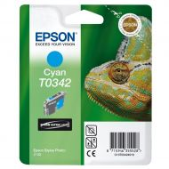 )Epson T0342 Ink Cart Cyan C13T03424010 (Pack 1)