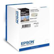 )Epson T7431 IJ Cart Black C13T74314010 (Pack 1)