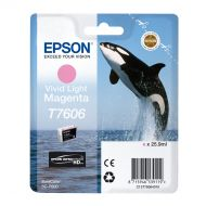 )Epson T7606 Vivid Lght Mag C13T76064010 (Pack 1)