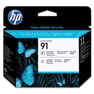 )HP 91 Printhead Black&LGrey C9463A (Pack 1)