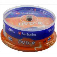 Verbatim DVD-R Spindle PK25 43522 (Pack 1)