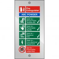 )Acrl Sg FireExtng-ABC Pwdr 100x200 CACF (Pack 1)