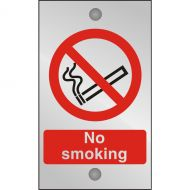 )Acryl Sgn No Smoking 120x200 CACP (Pack 1)