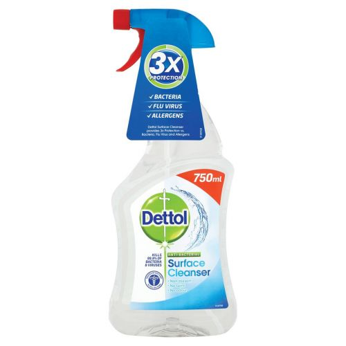 Dettol Surface Cleanser Spray 750ml (Pack 1)