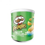 Pringles PopnGoSour Cream Onion 12 x 40g (Pack 1)