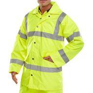 )L/Wt Jacket HV EN471 S Yellow (Pack 1)