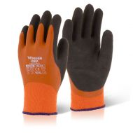 )Wonder Grip Thermo Plus Glv 7/Sml Org (Pack 12)