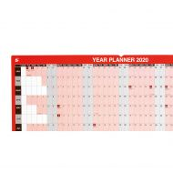 5 Star 2020 Year Planner Mounted (Pack 1)