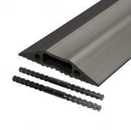 D-Line FloorCableCover Blk 83mmx1.8m (Pack 1)