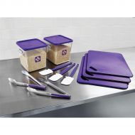 12 Piece FoodService Kit Purple 2002724 (Pack 1)