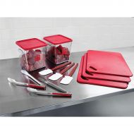 12 Piece FoodService Kit Red 2002723 (Pack 1)