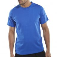 )T-Shirt 150gsm Royal Blue M (Pack 1)