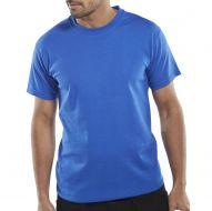 )T-Shirt Heavyweight 180gsm Ryl Blue 4XL (Pack 1)