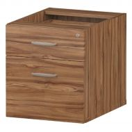 &Trexus 2 Drawer Fixed Pedestal Wnt (Pack 1)
