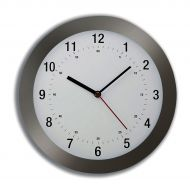 5 Star Fcl Radio ControlClock 300mm Grey (Pack 1)