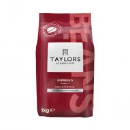 Taylors Espresso Coffee Beans 1kg (Pack 1)