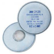 )3M 2128 P2R Filter (Pairs)   (Pack 10)