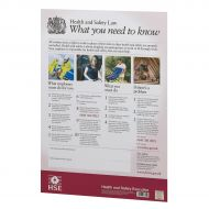 Health and Safety Poster A2 (Pack 1)