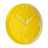 Leitz WOW Wall Clock Yellow (Pack 1)