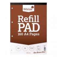 Silvine A4 Rfl Pad Feint 160Pgs A4Rpf (Pack 6)
