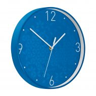 Leitz WOW Wall Clock Blue (Pack 1)