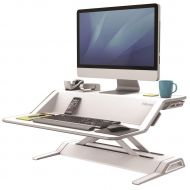 Fellowes Lotus SitStnd Wrkstn Wht 9901 (Pack 1)