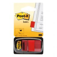 3M Post-It Index Red 680-1 (Pack 12)